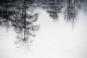 Spiegeling in het ijs1